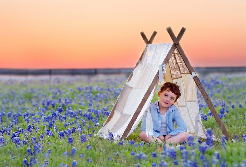 Allen Texas bluebonnets 2014